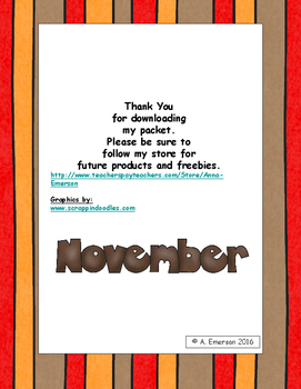 November Morning Work Fourth Grade Common Core Standards
