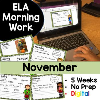 November Morning Work Google Drive Digital Edition