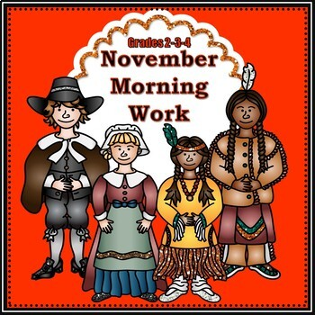 November Morning Work - Grades 2-3-4