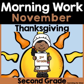 November Morning Work {Second Grade}