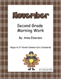 November Morning Work Second Grade