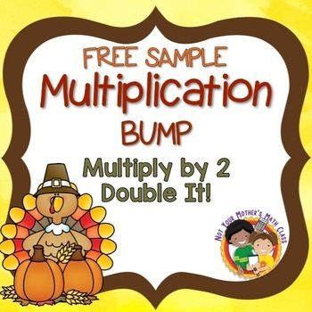 November Multiplication BUMP - Free Sample: Double It!