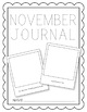 November NO PREP Journal Pages (Early Childhood)