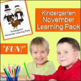 November NO PREP Kindergarten Pack