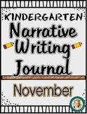 November Narrative Writing Journal