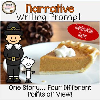November Narrative Writing Prompt FREEBIE