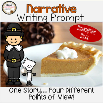 November Narrative Writing Prompt FREEBIE