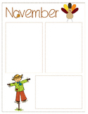 November Newsletter Template {Editable}