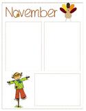 November Newsletter Template {Editable}
