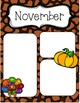 November Newsletters *Editable*