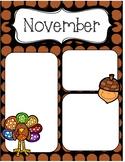 November Newsletters *Editable*