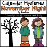 November Night Novel Study (Calendar Mysteries)