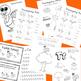 November No-Prep Activities for PreK - Kindergarten (Thank