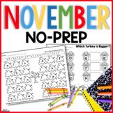 November No Prep Just Print