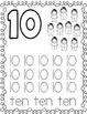 November Print and Go Math Fun:  Pre-K and Kindergarten