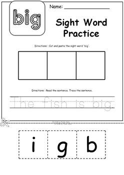 November No Prep Printables for Preschool - Free