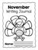 November No Prep Writing Journal