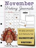 November Bell Ringer Draw & Write Daily Journal