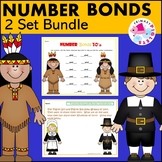 November Number Bond Practice & Problem Solving BUNDLE