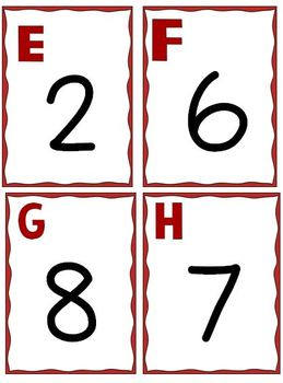 November Number Sense:  A Thanksgiving Themed Counting Write the Room