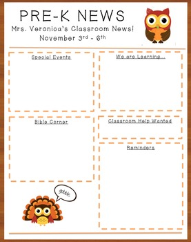 November Owl Newsletter