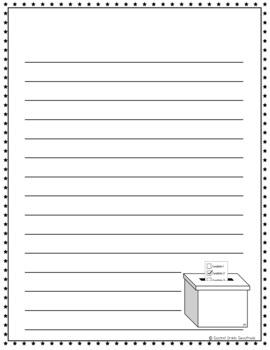 November Writing Paper Bundle