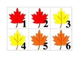 November Pattern Calender Pieces