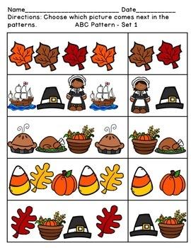 November Pattern Pack