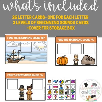 November Phonics Beginning Sounds Game