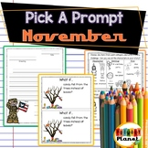 Picture Writing Prompts November