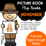 November Picture Book Flip Books - Print and Digital Options