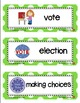 November Picture Word Cards K-3