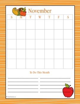 November Planning Pack for Children - 2014 Edition