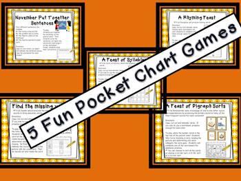 November Pocket Chart Station