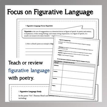 "Fall Poetry: ""November"" Poem Study Packet"