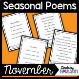 November Poems