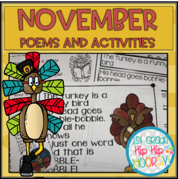 November Poems and Activities for the Classroom
