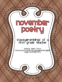 November Poetry