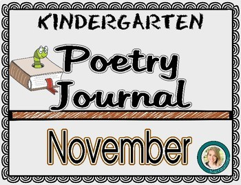 November Poetry Journal
