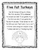 November Poetry Kindergarten & First Grade