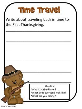 November Writing