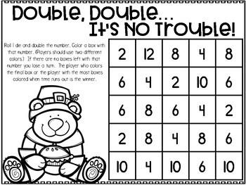 November Printable Math Games