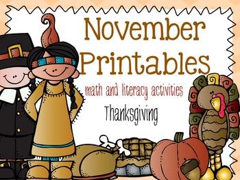 November Printables