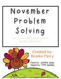 November Problem Solving