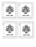 Turkey themed punch cards- behavior management