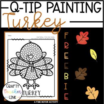 November Q-Tip Painting