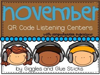 QR Code Listening Centers: November
