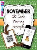 November QR Code Writing Prompts