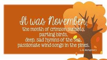 November Quote by Holly Rivers | Teachers Pay Teachers