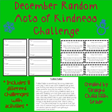 December Random Acts of Kindness Challenge Pack